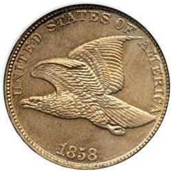 1858 Flying Eagle 1C. Lg Letters