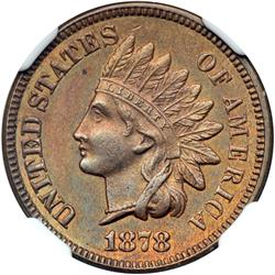 1878 Indian Head 1C NGC Proof 62