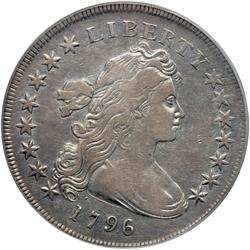 1796 Bust $1. Sm Date, Small Letters
