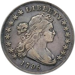 1796 Bust $1. Sm Date, Lg Letters