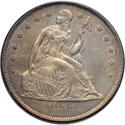 1859-O Liberty Seated $1