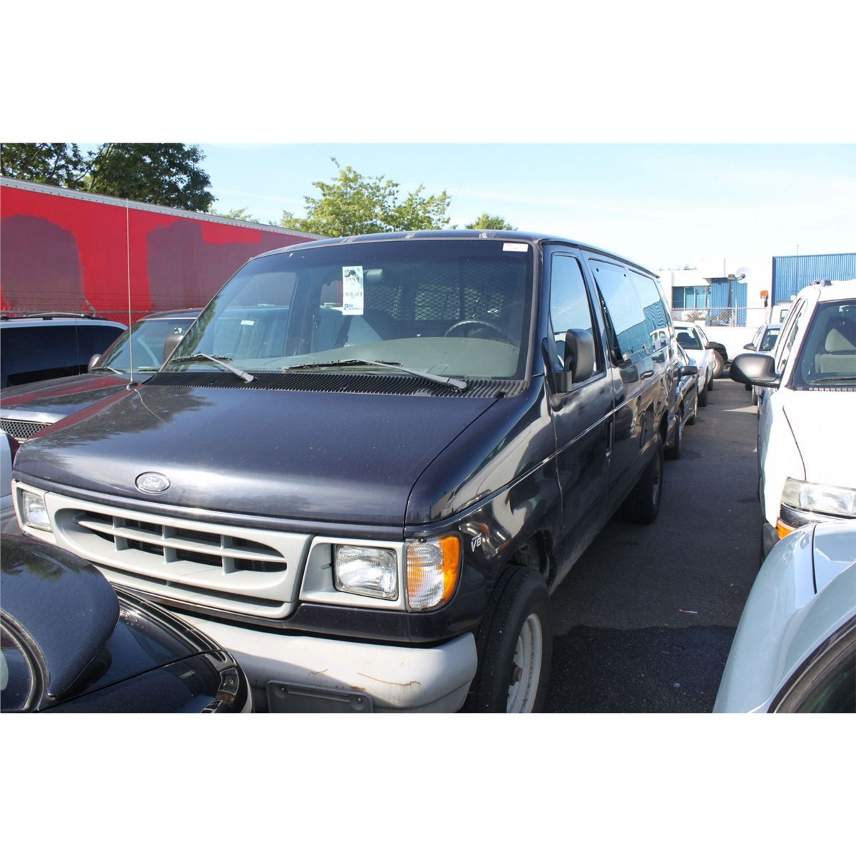 1999 blue ford econoline e 350 xl superduty. Black Bedroom Furniture Sets. Home Design Ideas