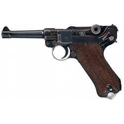 Mauser  S/42  Code, 1938 Production Luger Pistol