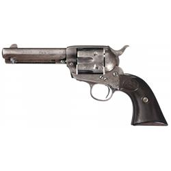 Pre-War Colt Single Action Army Revolver with Factory Letter