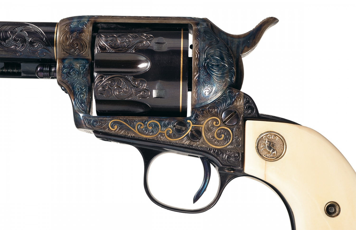 I-765 Receipt Notice Word Custom Engraved And Gold Inlaid Black Powder Colt Single Action  Invoice Number Sample Word with How To Get Uber Receipt Pdf Custom Engraved And Gold Inlaid Black Powder Colt Single Action Army  Revolver With Ivory Grips Business Invoice Software Free Word