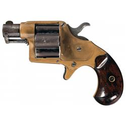 Scarce Short Barreled Colt Cloverleaf House Model Revolver