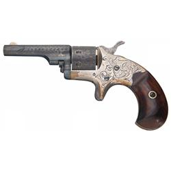 Factory Engraved Colt Open Top Pocket Revolver