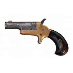 "Colt Third Model (Thuer) .41 Caliber Derringer with Desirable ""14 Pall Mall"" Marking"