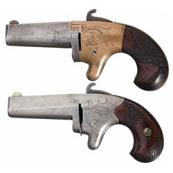 Lot of Two Derringers -A) National Arms Company Number 2 Derringer