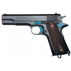 Rare Early Production U.S. Colt Model 1911 Semi-Automatic Pistol Serial Number 33