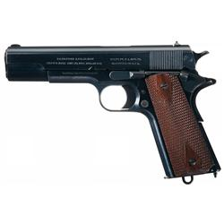 Magnificent General Officer's, 1912 Production U.S. Colt Model 1911 Army Semi-Automatic Pistol with