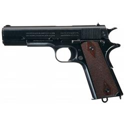Exceptional World War I U.S. Colt Model 1911 Semi-Automatic Pistol with Model 1912 Holster Rig