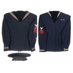 Two Scarce U.S. Navy Aviation Jumpers and Sailor Cap