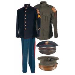 Two Interwar Period United States Marine Corps Uniforms