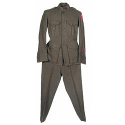 WWI United States Marine Corps 6th Regiment Uniform
