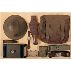 Grouping of Lt. G.G. MacDonald Tank Corp's Gear