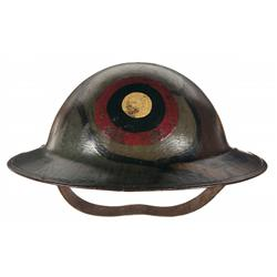 WWI Era U.S. Air Service Helmet and Patches