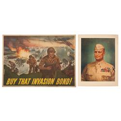 Eisenhower and His Biggest Gamble of the War- The Normandy Invasion Posters