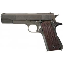 "Exceptional World War II ""W.B."" Inspected Colt Model 1911A1 Semi-Automatic Pistol with General Offic"