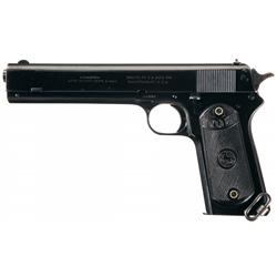 Spectacular Colt Model 1902 Military Semi-Automatic Pistol with Factory Letter