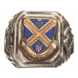 Historic, Documented General Douglas A. MacArthur's Sterling Silver Ring
