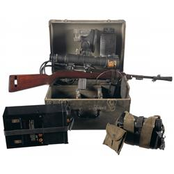 Desirable WWII Inland M1 Carbine with M3 Infrared Sniper Scope and Accessories
