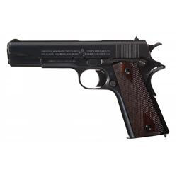 "Exceptional Late WWI Production ""Black Army"" Model 1911 Pistol"