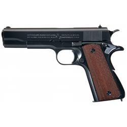 Exceptional Colt Improved Model 1911 (Transition Model1911A1) Semi-Automatic Pistol