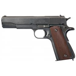 Excellent World War II U.S. Union Switch & Signal Contract Model 1911A1 Semi-Automatic Pistol