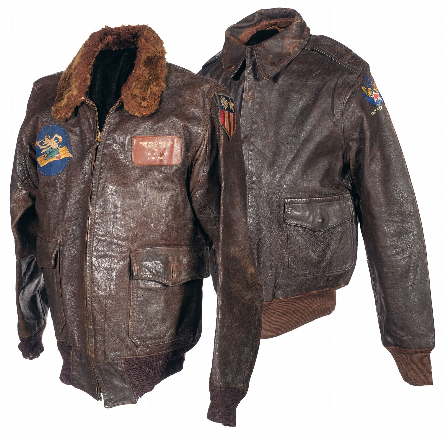 Ww2 Flight Jacket - Coat Nj