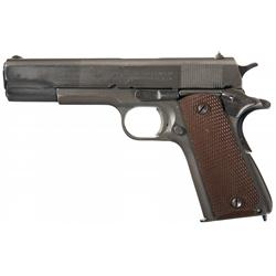 Excellent U.S. Colt Model 1911A1 1945 Production Semi-Automatic Pistol