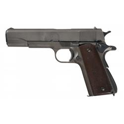Excellent U.S. Remington-Rand Model 1911A1 Semi-Automatic Pistol with Holster