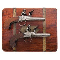 Custom Cased Pair of Ketland London Flintlock Pistols -A) Ketland London Flintlock Pistol