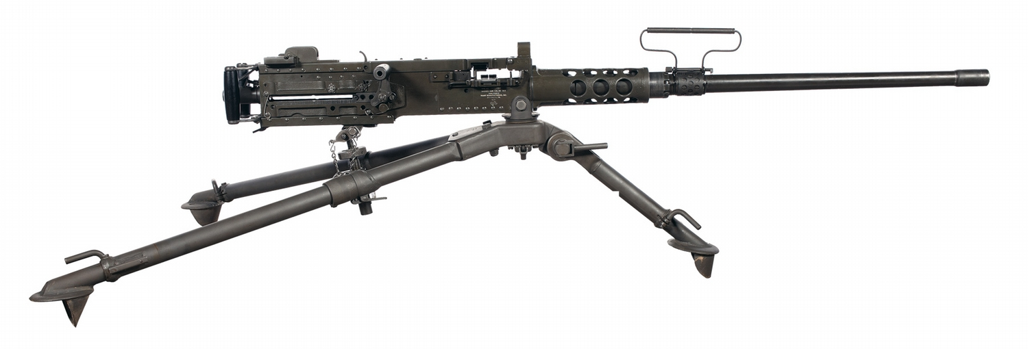 desirable ramo manufacture full automatic m2 50 cal bmg complete rig