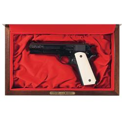 Colt Presentation Grade Model 1911 Semi-Automatic Pistol with Case and Box