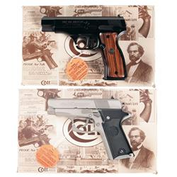 Two Cased Modern Colt Semi-Automatic Pistols -A) Colt Model 2000 All American First Edition Semi-Aut