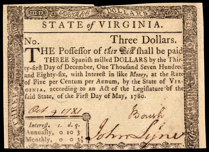 "currency in colonial america Reprinted in andrew mcfarland davis, colonial currency reprints, vol 2, pp 360-428 weiss, roger ""issues of paper money in the american colonies."