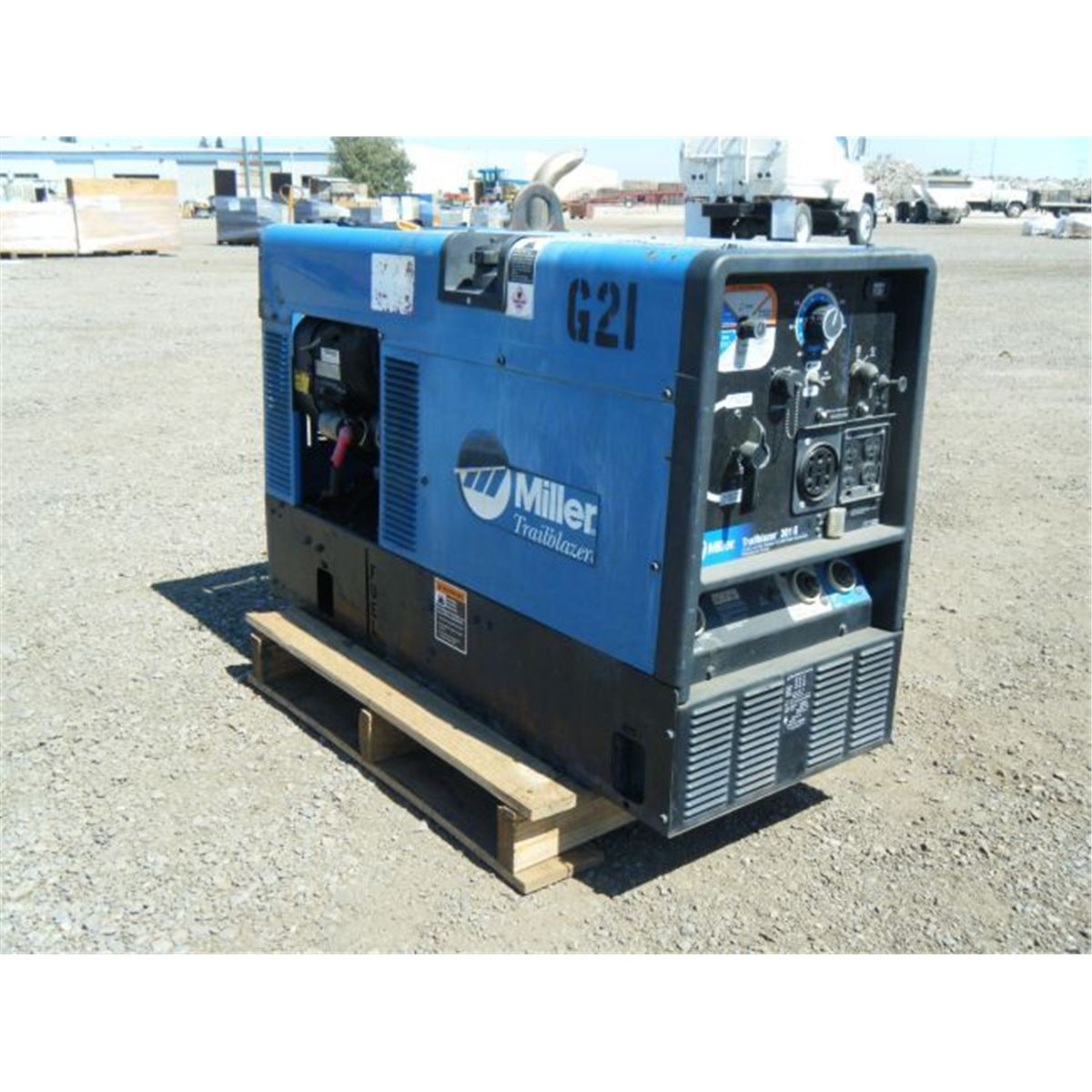 trailblazer 302 Miller trailblazer 302 engine drives offer unbeatable arc performance, independent generator and weld outputs make this ideal for contruction, fabrication, and.