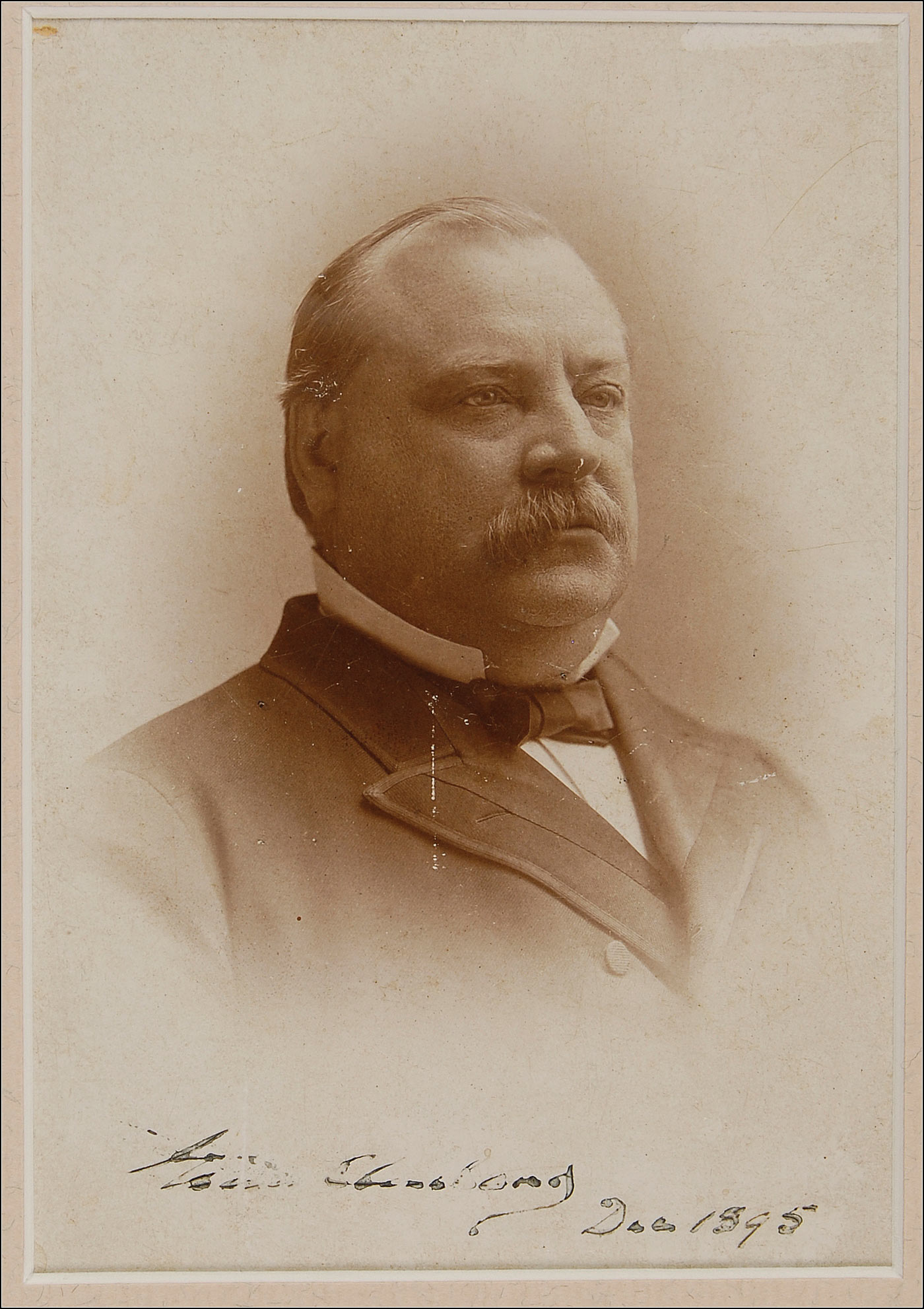 grover cleveland Grover cleveland 22nd and 24th president of the united states (march 4, 1885 to march 3, 1889 and march 4, 1893 to march 3, 1897) nickname: veto mayor veto president.