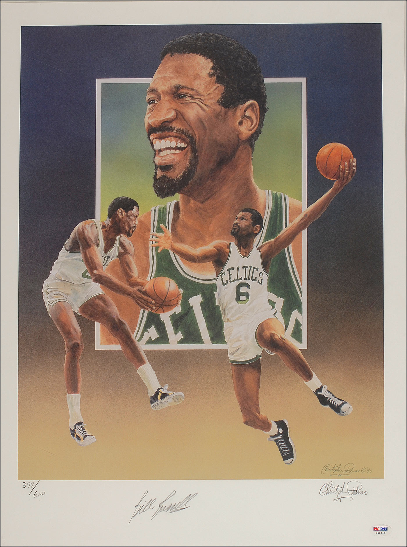 bill russell coloring pages - photo#49