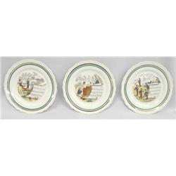 "French ""Musical Themed"" Plates"