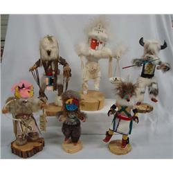 Large Collection Navajo Kachinas