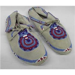 Blackfoot Beaded Mocassins