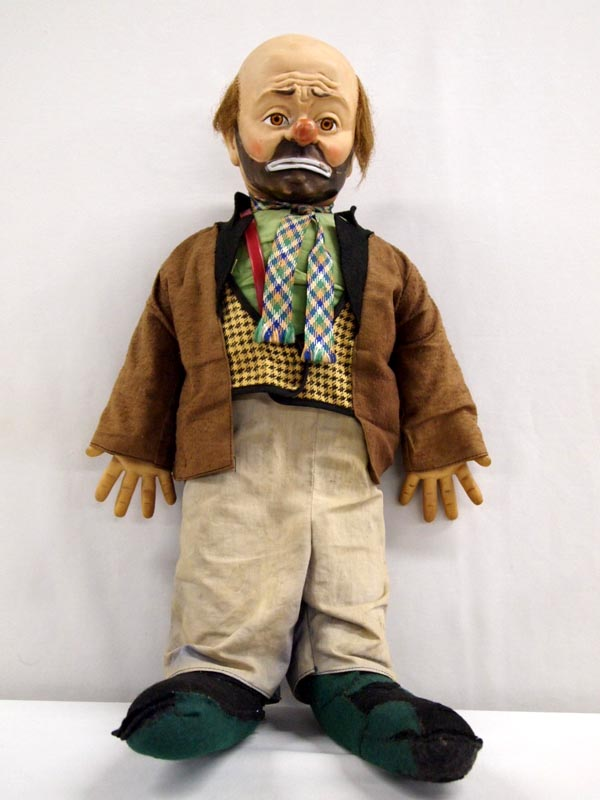emmett kelly  u0026 39  u0026 39 willie the clown u0026 39  u0026 39  doll
