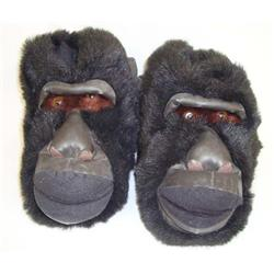 Large Gorilla Slippers