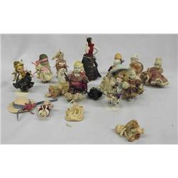 Large Collection Bisque Baby Dolls