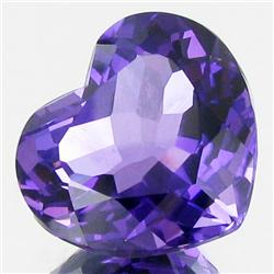 29.49ct    Purple Clr Change Brazil Amethyst Heart (GEM-33369)