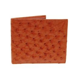 Mens Ostrich Hide Skin Wallet (ACT-075)
