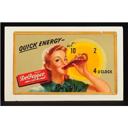 "Dr. Pepper ""Quick Energy"" Advertising Poster"