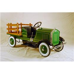 American National Stake Bed Truck Pedal Car